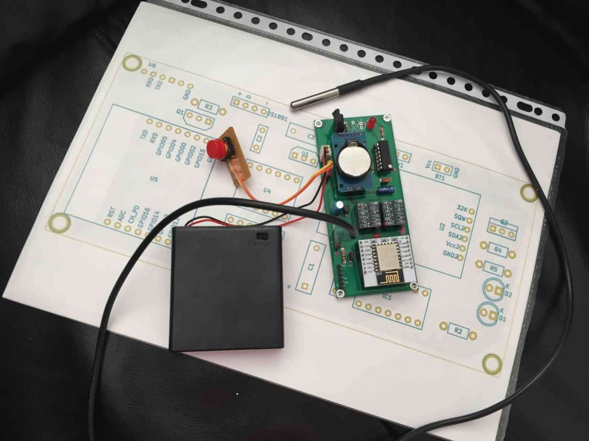 Beehave A Beehive Data Logger Willems Website Wiring Up Reed Switch I Can Connect The And Gpio16 Together With Some Passive Components To Reset Pin But Then There Is No Way Tell Why Esp12 Woke